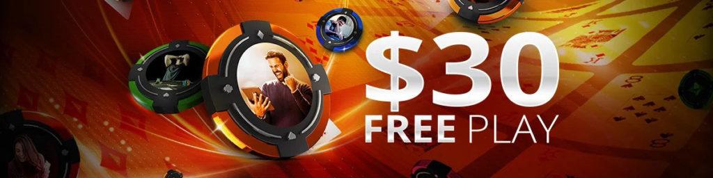 30 долларов бесплатно на игру новым покеристам рума ПатиПокер.