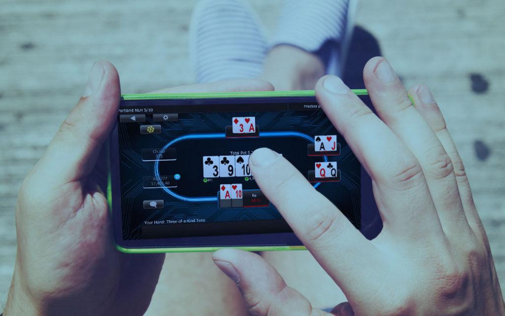 Установка и игра в мобильном приложении рума 888покер.