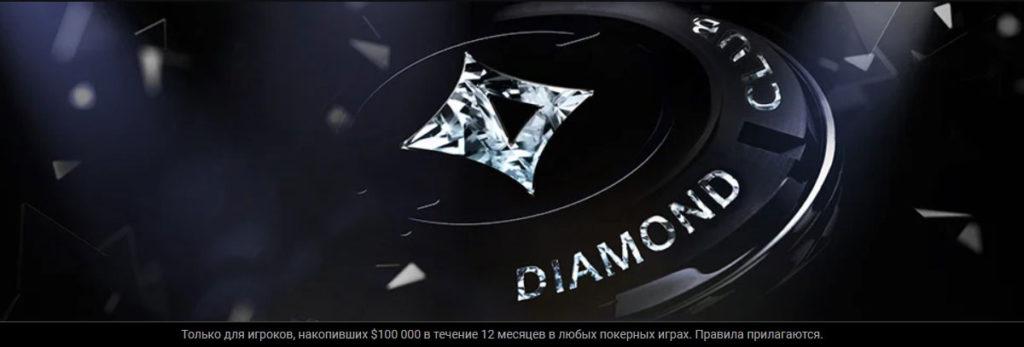 ВИП-программа Diamond Club рума partypoker.